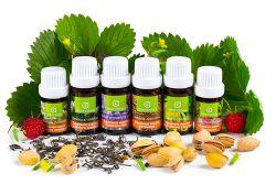 Эфирные масла (для аромотерапии, сауны, ингаляций, массажа)
