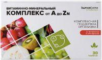 Витам-мин комплекс от А до Zn табл  №30 БАД