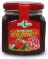 Варенье Мир вкусов Клубничное б/сах на эритрите 250,0