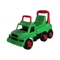 и1 Автомобиль-каталка Веселые гонки (зел) М4483