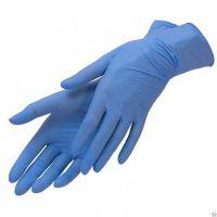 Перчатки н/стер смотр нитрил неопуд ONION (голуб) р.M 100шт (50 пар)