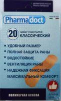 Лейкопластыри Фармадокт Классический 2х7см №20 телесн, полимерн осн, водост