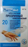 Лейкопластыри Фармадокт Прозрачный классич 2х7см №20 полимерн осн, водост