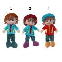 Кукла текстиль Паренёк в шляпке 35 см 2272239