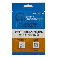 Лейкопластырь мозольный Доктор Мозолькин (от сух. мозол.) 6х10 см