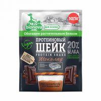 Протеиновый Шейк с Шоколадом б/сах bionova 25,0