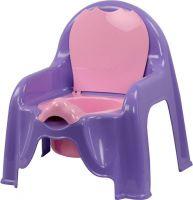 Горшок-стульчик детский (св.фиолет.) М 1327