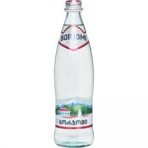 Вода Боржоми мин. лечебно -стол. натур. газ. 0,5л  стекло
