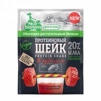 Протеиновый Шейк с Клубникой б/сах bionova 25,0