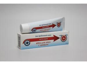 К ZD Крем для лица с цинком (анти-акне )50 мл