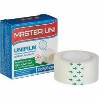 Лейкопластырь рулон 2х500 см Мастер Юни UNIFILM на полимерной основе
