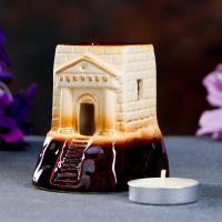 Аромалампа Башня керамика 6,5х7,5х8 см 4694368