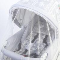 Антимоскитная сетка для коляски , белая 100х140 СЭ-826