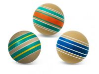 Мяч резин. 100 мм  Эко руч.окрашивание Р7-100