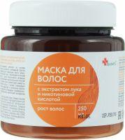 Маска д/волос Apoteks с экстрактом Лука и Никотин. кислотой 250,0