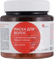 Маска д/волос Apoteks с экстрактом Красного перца и Корицы 250,0