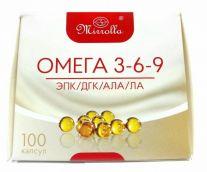 Омега 3-6-9 Мирролла капс. 370 мг №100 БАД