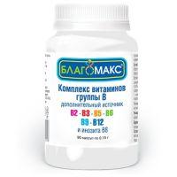 Комплекс Благомакс Витамины гр.В 0,15 капс №90