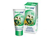 Барсукор крем-бальзам с барсучим жиром массажный для детей 50 мл инд.уп.