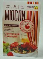 Мюсли мультизлаковые с пророщ.пшеницей и ягодами глаз. ябл сок  310,0