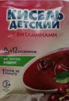 Кисель Витошка Вишня с вит. д/ дет. с 3-х лет 25,0 ДП