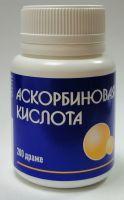 Аскорбиновая кислота др. 250 мг №200 банка полим (БАД)