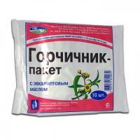 Горчичник-пакет №10 (эвкалипт)