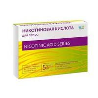 Никотиновая кислота д/волос, восстановл луковиц 5 мл №10 тюб-кап (Renewal)