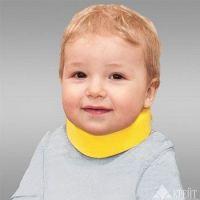 Воротник-бандаж для шейного отдела д/детей цветной F-301 (высота 3,5см)