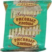 Хлебцы Здоровей рисовые без глютена 90,0