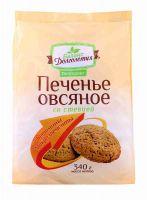 Печенье Петродиет Овсяное со стевией, вит. и микроэл. 340,0