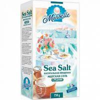 Соль Марбелл морская пищевая Средняя 750,0 коробка