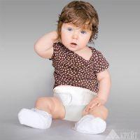 Бандаж грыжевой детский на брюшную стенку №1 (ОТ 45-55см) Б-400 бел.