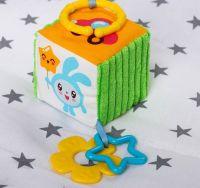 и7 Мякая игрушка-подвеска развив с прорез Малышарики Крошик 3304329