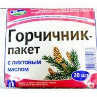 Горчичник-пакет №20 (пихтов.масло)
