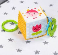 и7 Мякая игрушка-подвеска развив с прорез Малышарики мякиш 402