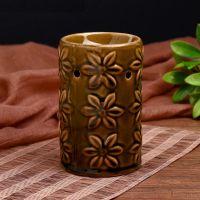 Аромалампа Подснежники  керамика 12,5х7,8х7,8 см 2270085+свеча(подарок)