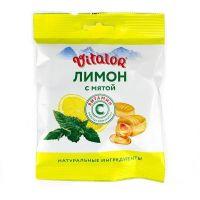 Карамель Виталор Лимон с мятой с вит.С 60,0 пак. БАД