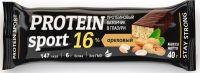 Мюсли батончик Protein Sport Ореховый в глазуре 40,0