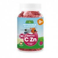 Витам. Ми-Ми-Мишки Иммуно (C и Zn) пектин жев мишки №90 (виногр) c3-х БАД