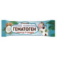 Гематоген Витатека с кокосом в шок.глазури 40,0 БАД