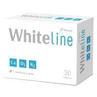 Кальций +Д3+К2 WhiteLine таб №30 БАД