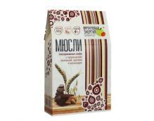 Мюсли мультизлаковые с пророщ.пшеницей орехами и шокол глаз. ябл сок  310,0