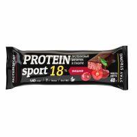 Мюсли батончик Protein Sport Вишня в глазуре 40,0